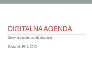 Digitalna  agenda