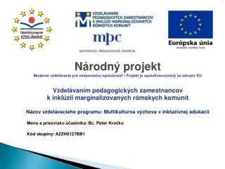 Národný projekt