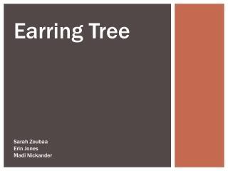 Earring Tree