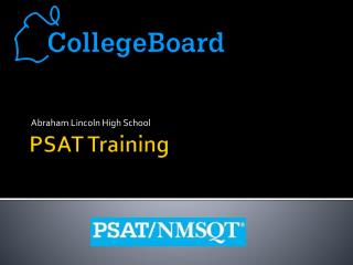 PSAT Training