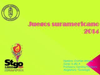 Juegos suramericano 2014