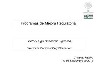 Programas de Mejora Regulatoria