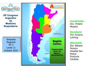 Simposio Regional Nº 2 Lunes 11 Octubre 2010