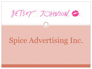 Spice Advertising Inc.