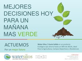 MEJORES  Decisiones Hoy Para un mañana Mas  verde