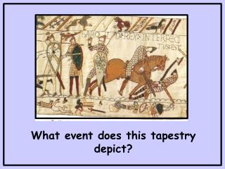 What event does this tapestry depict?