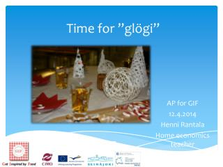 "Time for ""glögi"""