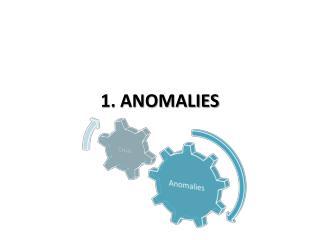 1. ANOMALIES
