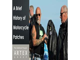 A Brief History Of Motorcycle Patches