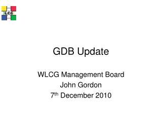 GDB Update