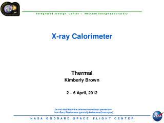 X-ray Calorimeter