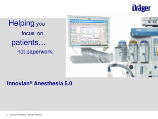 Innovian �  Anesthesia 5.0