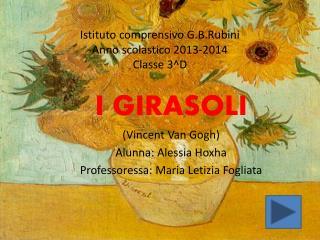 Istituto comprensivo G.B.Rubini Anno scolastico 2013-2014 Classe 3^D