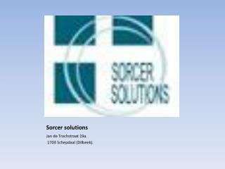 Sorcer  solutions