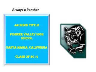 Always a Panther