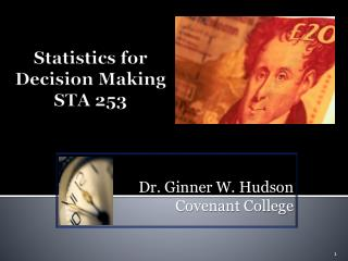 Statistics for Decision Making STA 253