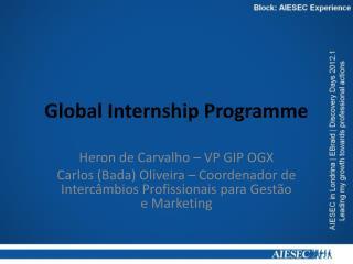 Global Internship Programme