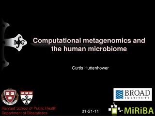 Computational metagenomics and the human microbiome
