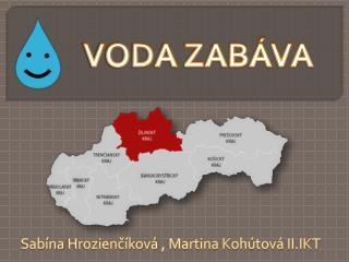 Sabína Hrozienčíková ,  Martina Kohútová II.IKT