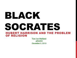 Black Socrates