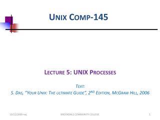 Unix Comp-145