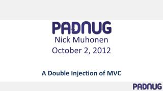 Nick Muhonen October 2, 2012