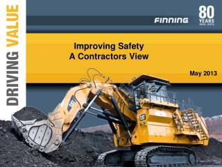 Improving Safety A Contractors View