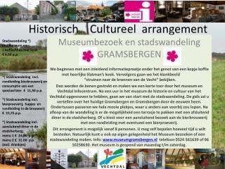 Historisch    Cultureel  arrangement