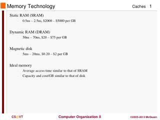 Memory Technology