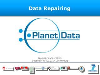 Data Repairing