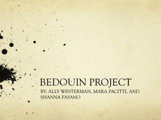 BEDOUIN PROJECT