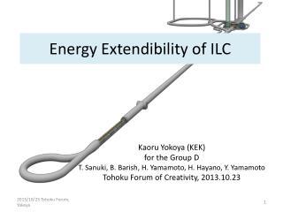 Energy Extendibility of ILC