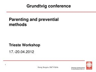 Grundtvig conference