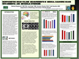 Natasa Dragicevic* MD PhD, Joe Grajo* MD, Summer Decker PhD, Todd Hazelton MD