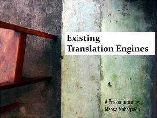 A Presentation by: Mahsa Mohaghegh