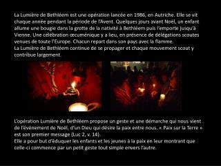 9n04y Diaporama messe cate du 18 decembre 2011 lumiere bethleem