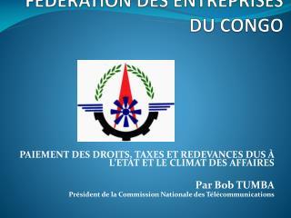 FEDERATION DES ENTREPRISES DU CONGO