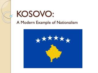 KOSOVO: