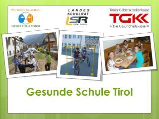 Gesunde Schule Tirol