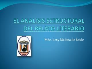 EL ANALISIS ESTRUCTURAL DEL RELATO LITERARIO