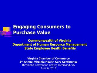 Engaging Consumers to Purchase Value