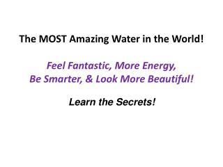 Learn the Secrets!