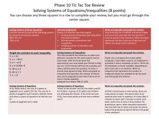 tic tac toe review