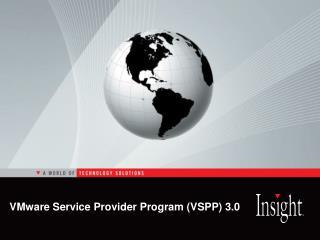 VMware Service Provider Program VSPP 3.0