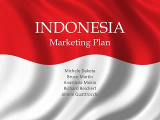 INDONESIA Marketing Plan