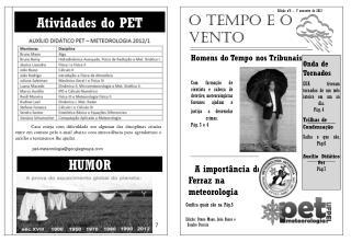Edição  nº6 – 1º  semestre de  2012