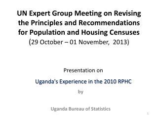 by Uganda Bureau of Statistics