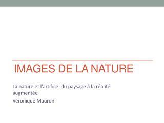 Images de la nature