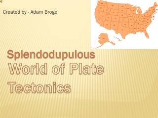 World of Plate Tectonics