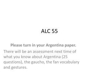 ALC 55